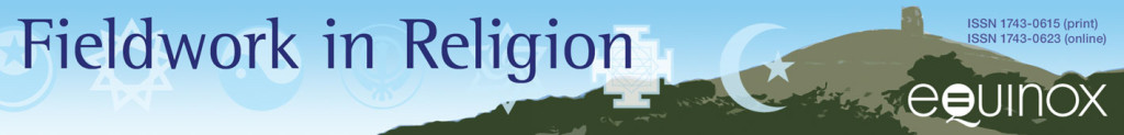 Fieldwork in Religion banner