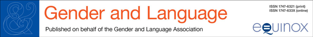 Gender & Language banner