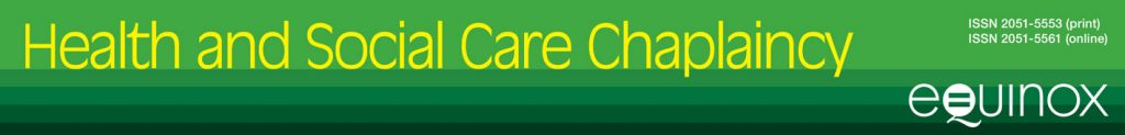 Health and Social Care Chaplaincy banner