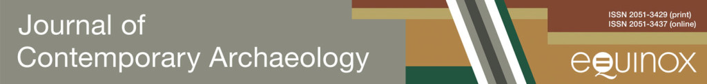 Journal of Contemporary Archaeology banner