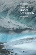 JGA cover showing a glacial landscape
