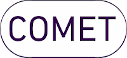 Logo of COMET society and link